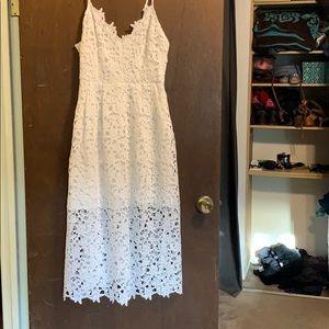 ASTR white dress